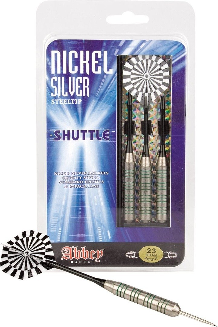 Rzutki do dart niklowe Abbey Darts 23g