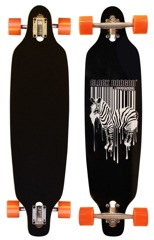 Deskorolka longboard Jungle Fever Black Dragon